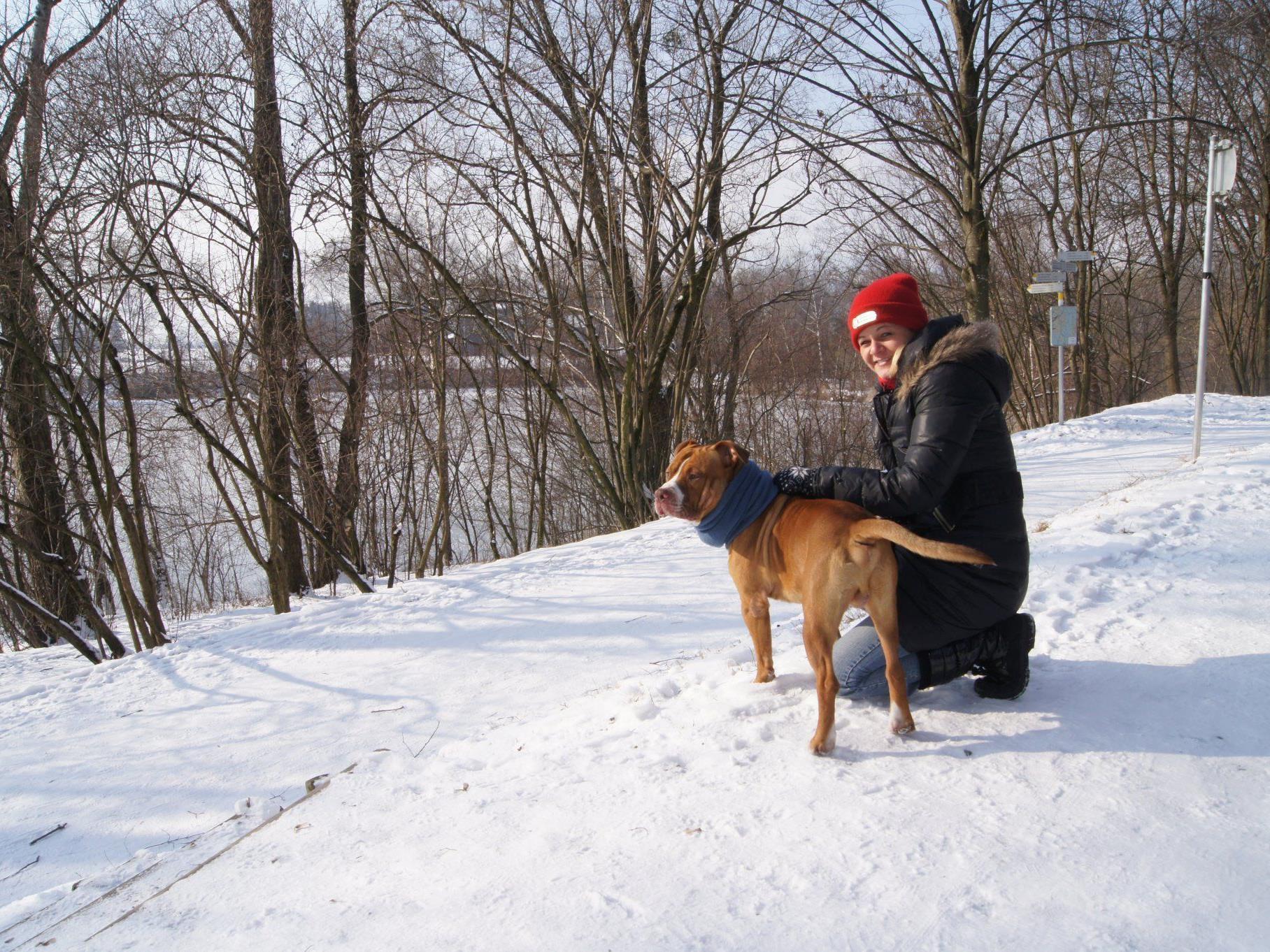 Jasmin aus Lustenau machte mit ihrem Xango einen ausgedehnter Spaziergang.