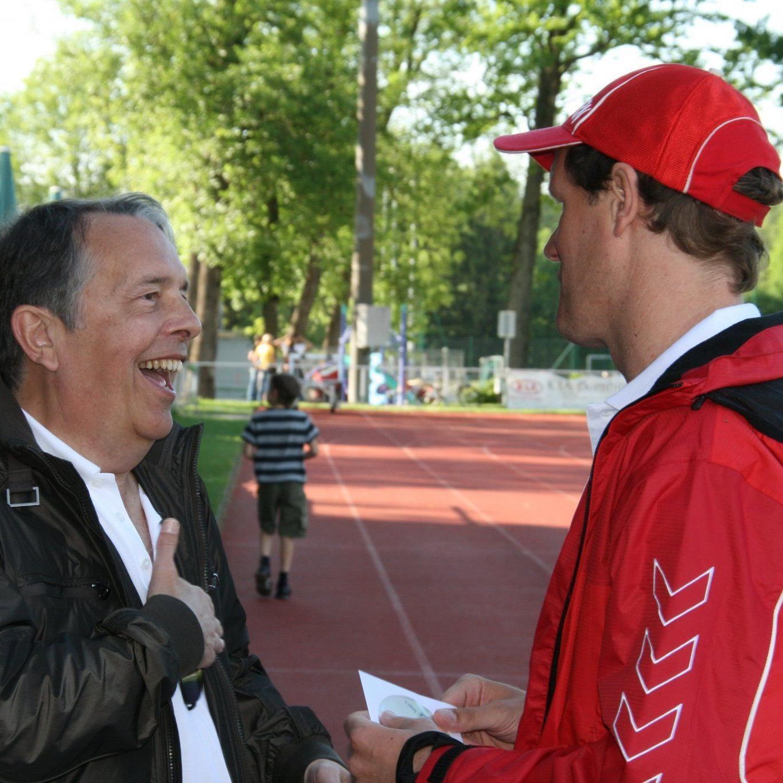 Armand Benneker (r.) ist seit Sommer in St. Gallen tätig.