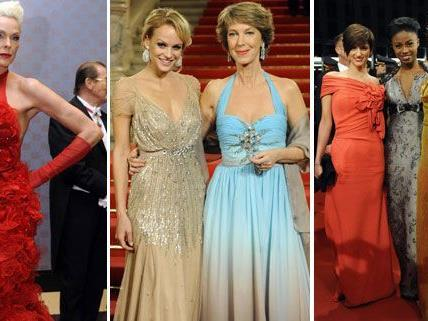 Das waren die schönsten Opernball-Kleider 2012.