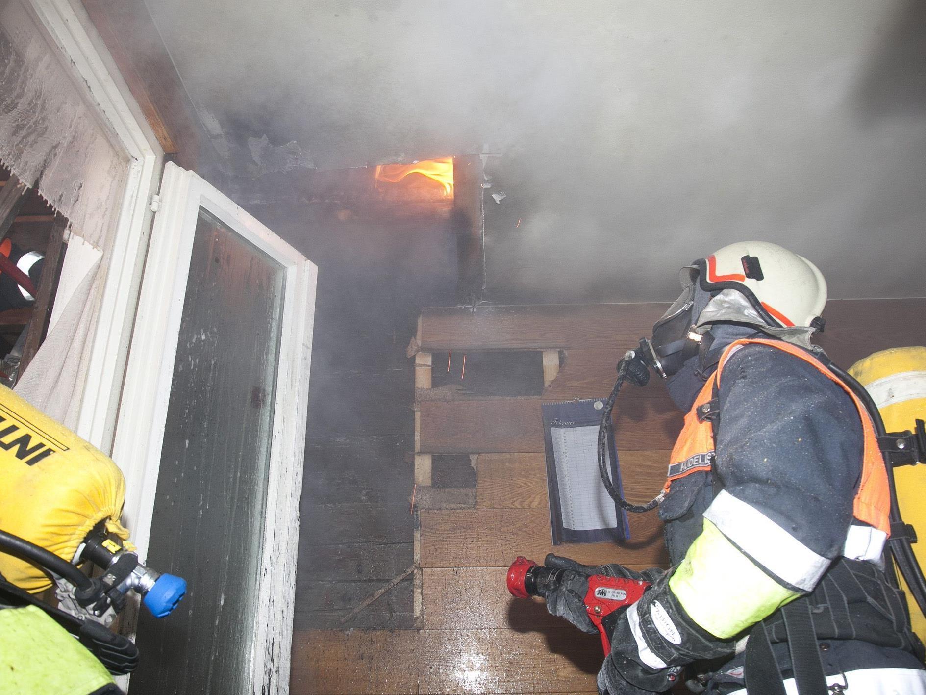 Wohnungsbrand in Koblach.