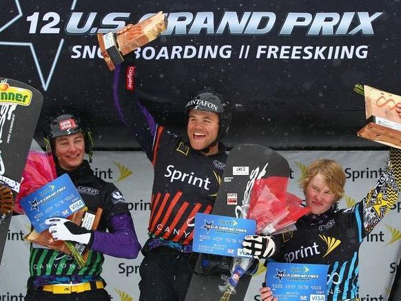 Markus Schaire gewinnt in Amerika, Gino Hämmerle wurde Zweiter.