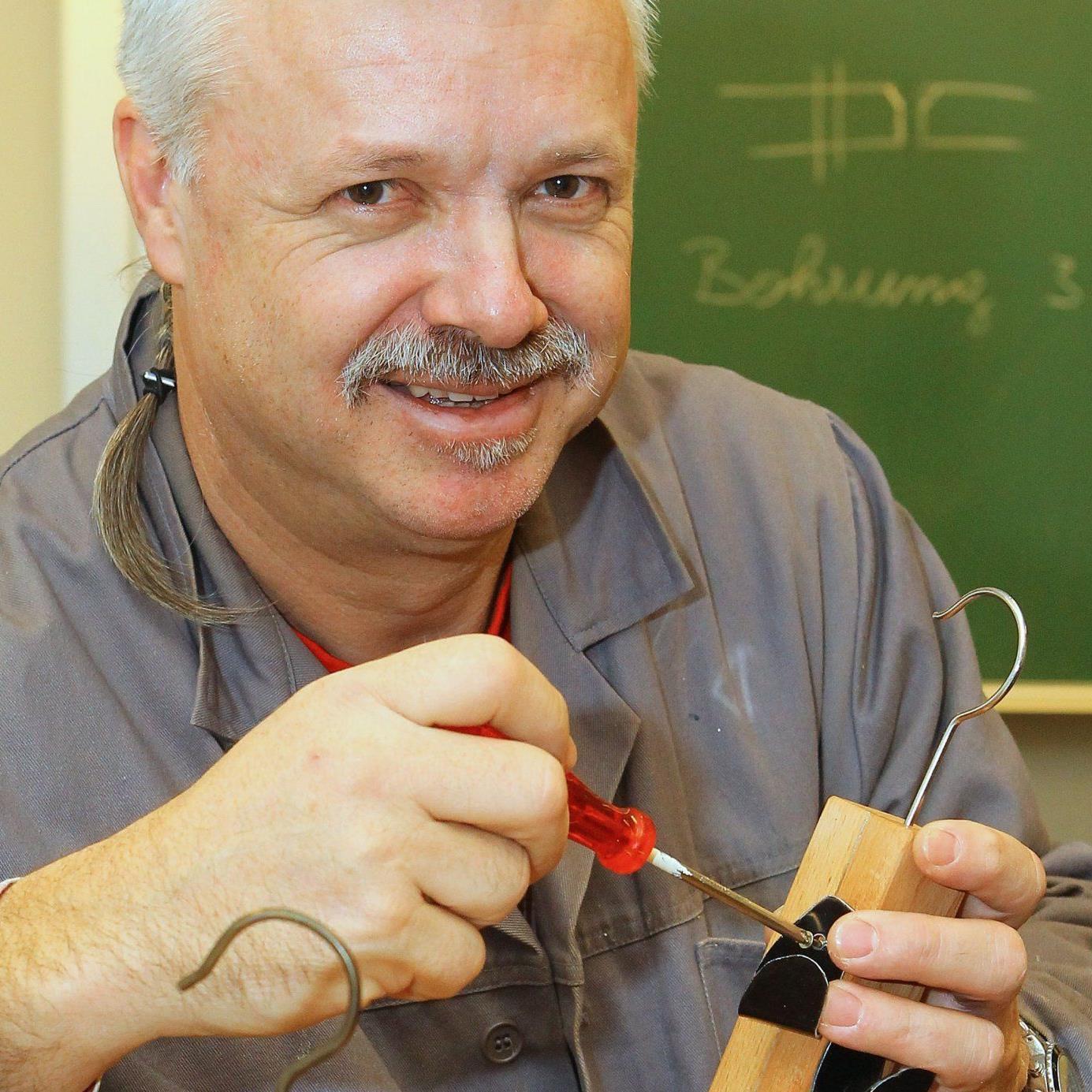 Technisches Werken – für Christoph Kessler Hobby und Beruf zugleich.