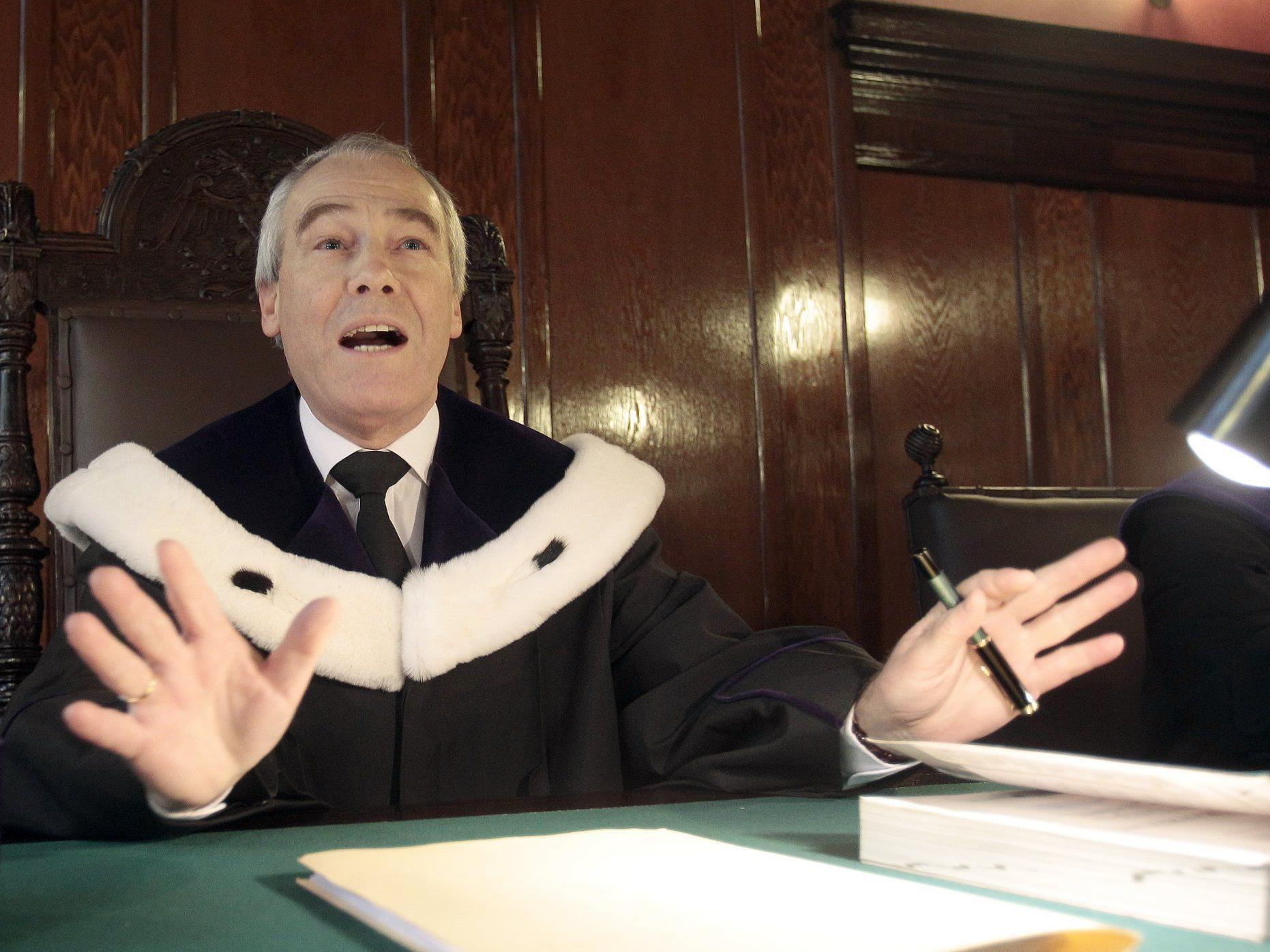 Eckart Ratz ist seit der Vorwoche neuer Präsident des Obersten Gerichtshofs.