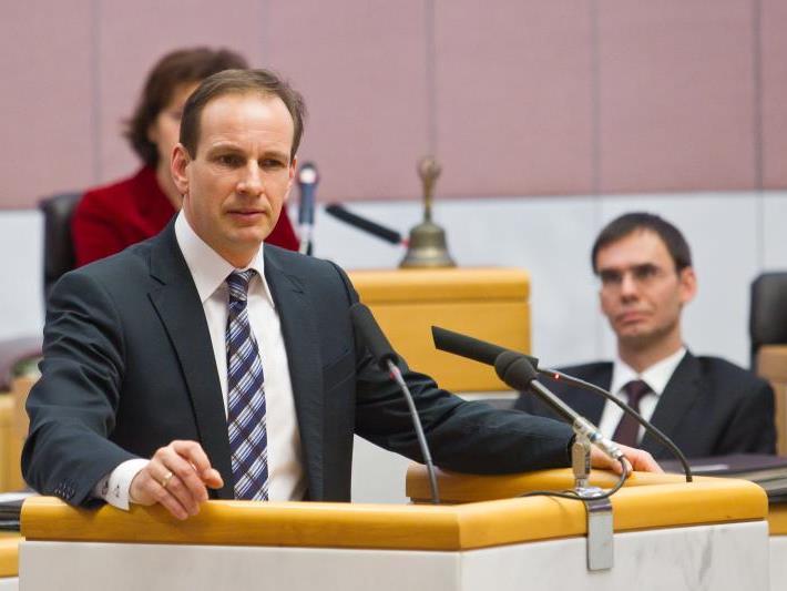 FPÖ-Chef Egger warnt vor einer Umwidmungssteuer.