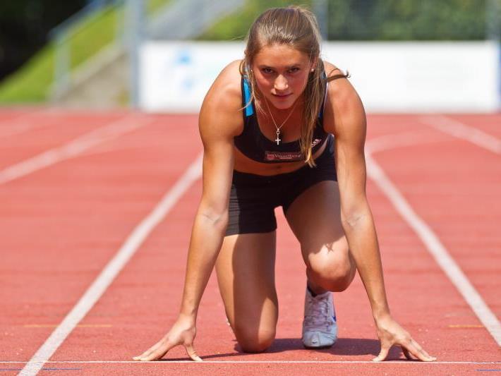 Rosalie Tschann zählt zu den größten Hoffnungen in der Leichtathletik.