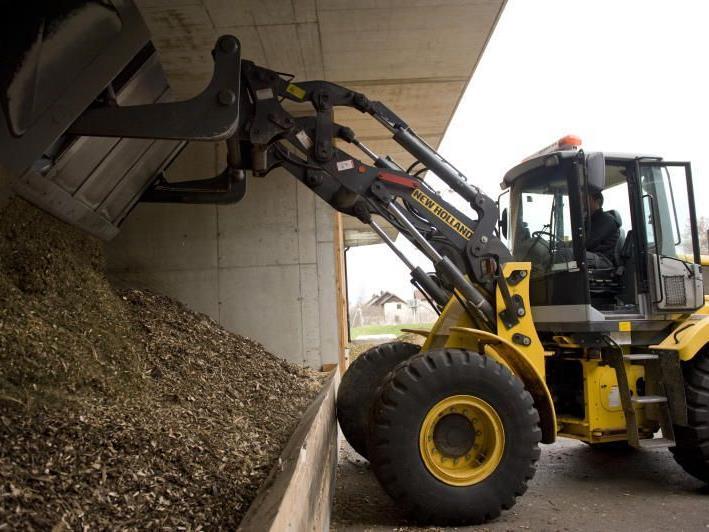 Im Biomasse-Heizwerk darf nunmehr nur Holz aus einem Umkreis von 30 km verwendet werden.