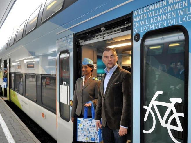Anfangsprobleme scheinen WESTbahn-Geschäftsführer Stefan Wehinger eher zu motivieren.