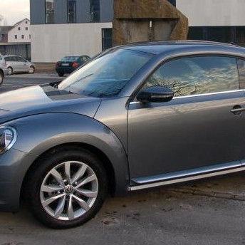 """Der neue Beetle tritt als schickes, in seiner Art besonderes """"Sportcoupé"""" auf."""