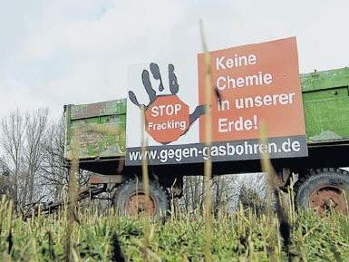 In Deutschland wächst der Protest gegen die geplanten Bohrungen.