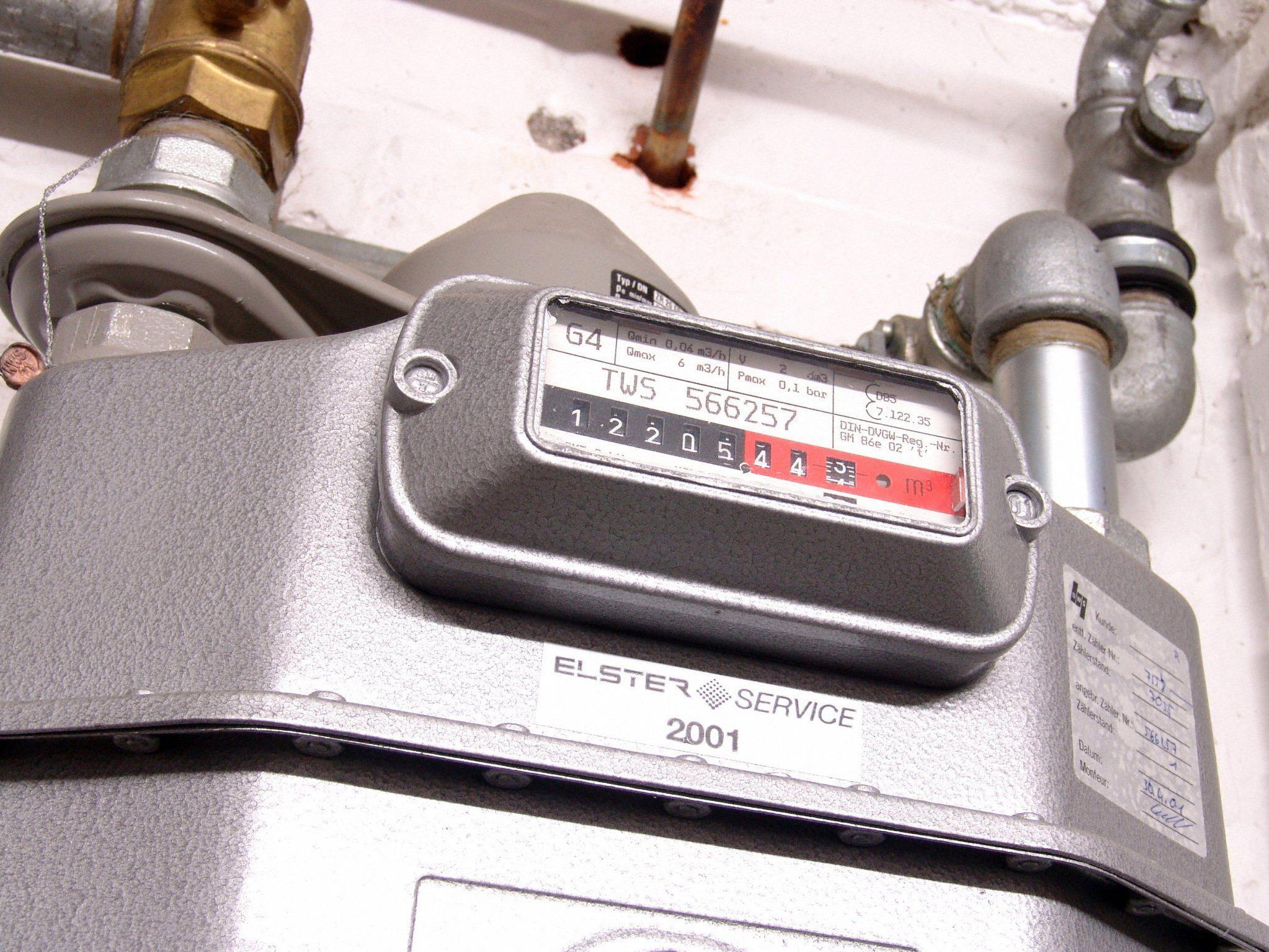Die Gaszähler in Österreich liefen im Februar heiß
