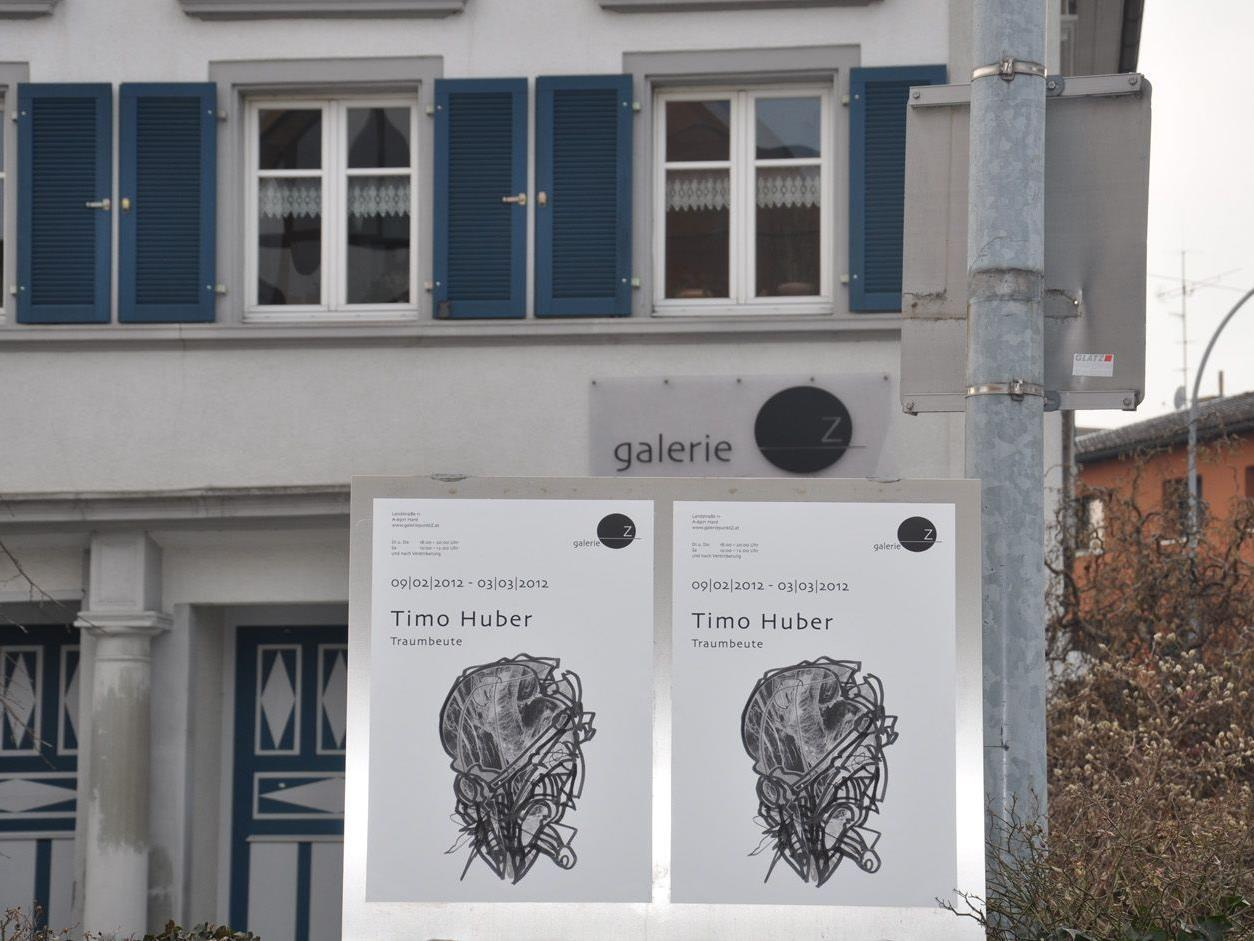 Die Ausstellung Timo Huber wird noch bis 3. März in der Galerie.Z gezeigt.
