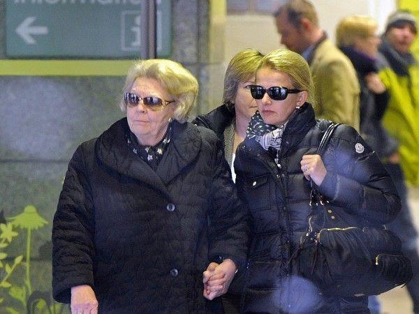 Königin Beatrix und Schwiegertochter Mabel in der Innsbrucker Klinik.