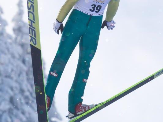 Johannes Lenz wurde Landesmeister im Skispringen.