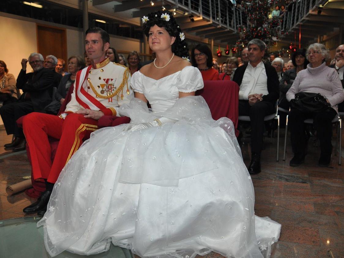 Das Harder Kaiserpaar wird beim Kaiserball natürlich wieder zu Gast sein.