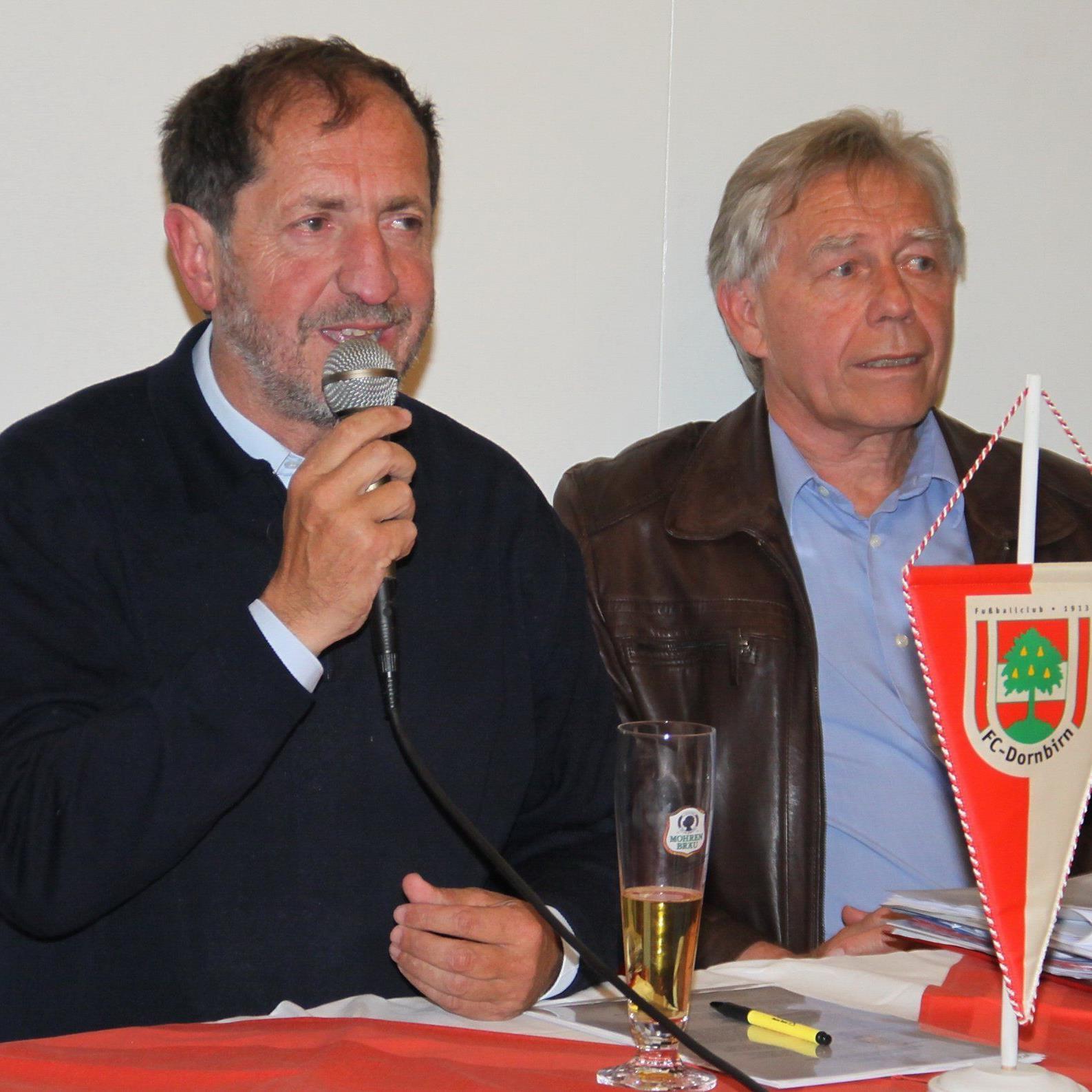 Erwin Reis und Wolfgang Karlinger freut sich mit dem Vorstand auf die Kick off Veranstaltung.