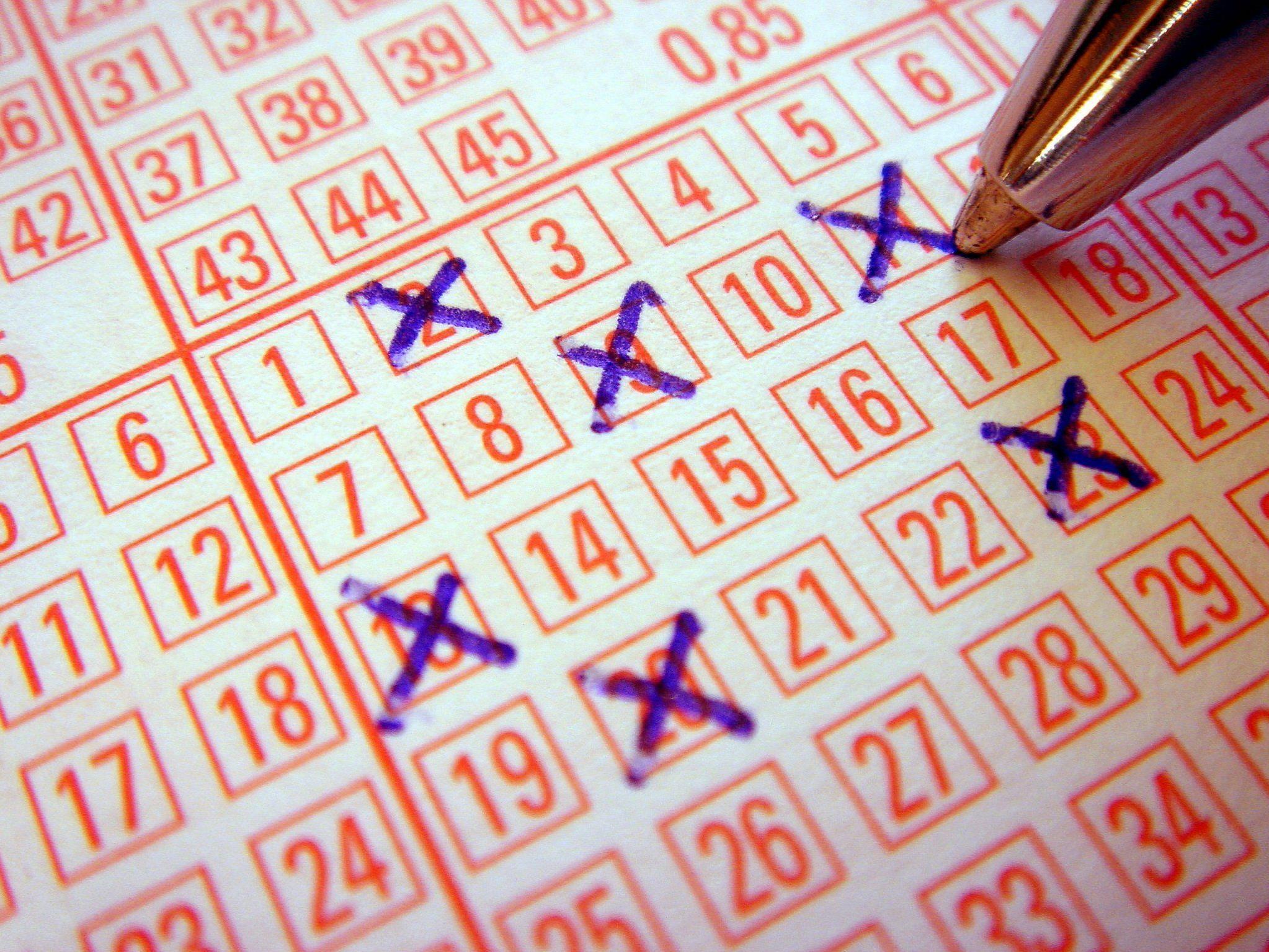 Sechs Richtige im Lotto, ein paar hundert Sorgen weniger!