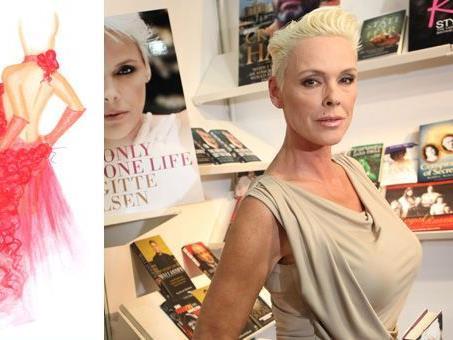 Brigitte Nielsen wird den Wiener Opernball 2012 in einem Kleid aus Rosen besuchen.
