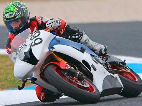 Oscar McIntyre (17) verunglückte in einem Superstock-Rennen tödlich.