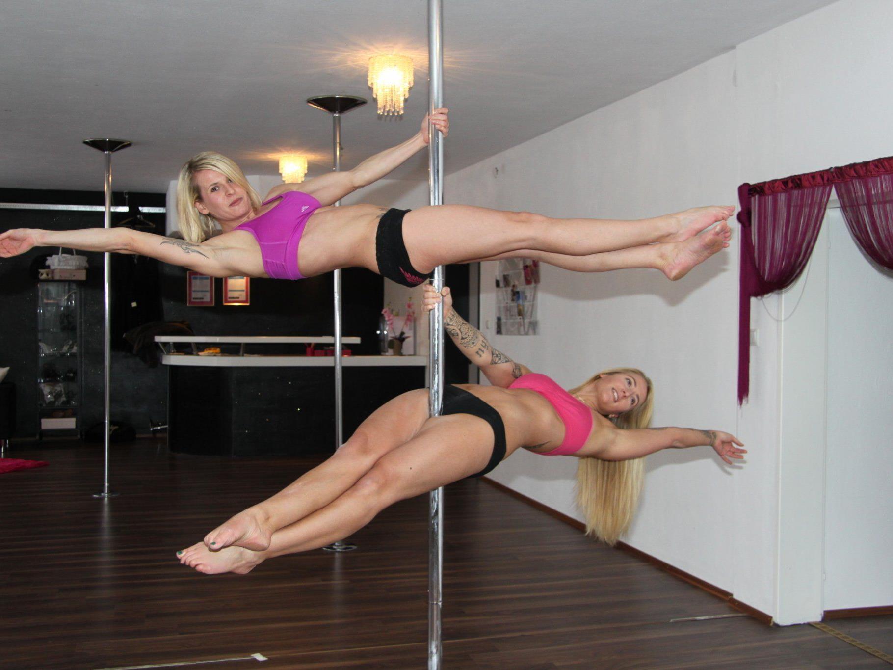 Stark im Trend: Poledance als Sportart.