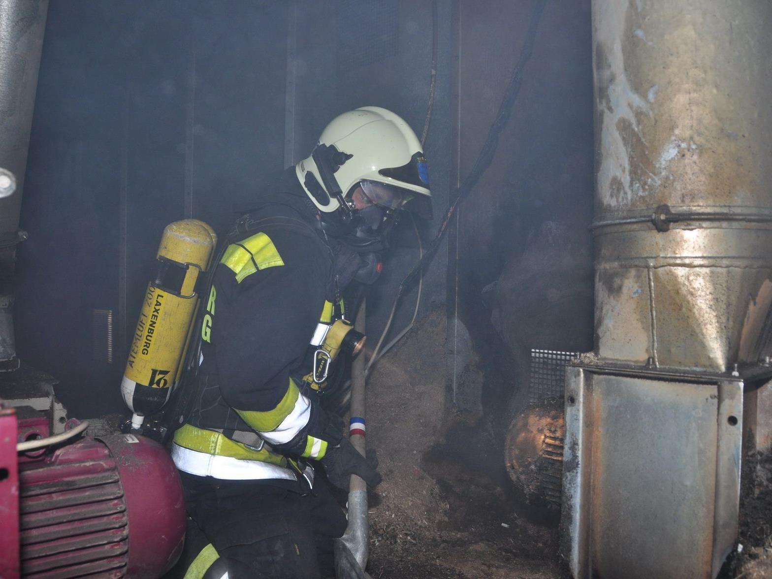 Keine Verletzten gab es bei diesem Brand zu beklagen