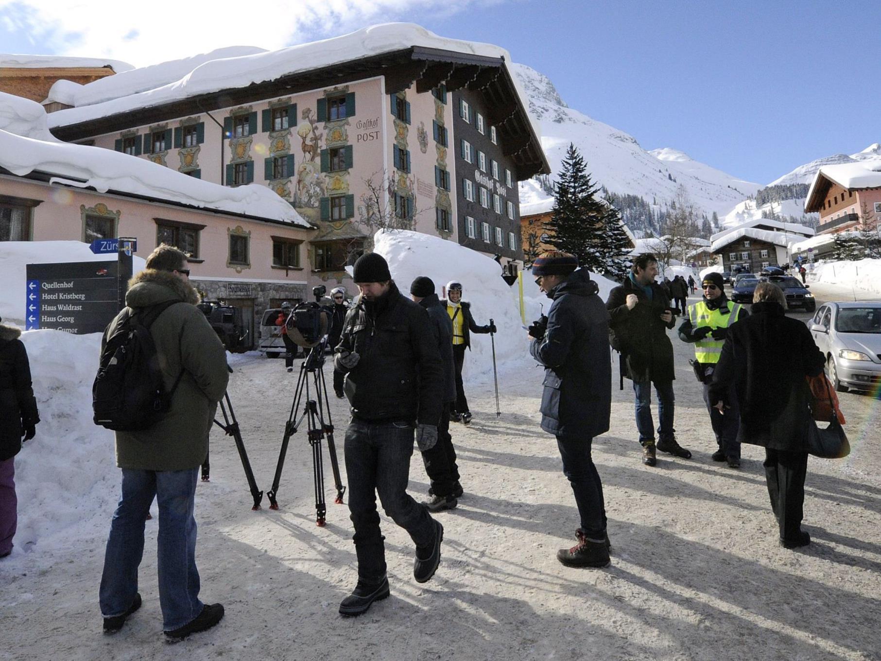 Nach dem großen Medienrummel am Wochenende kehrt wieder etwas Normalität in Lech ein.
