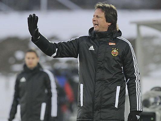 Rapid-Coach Schöttel will endlich Tore sehen.