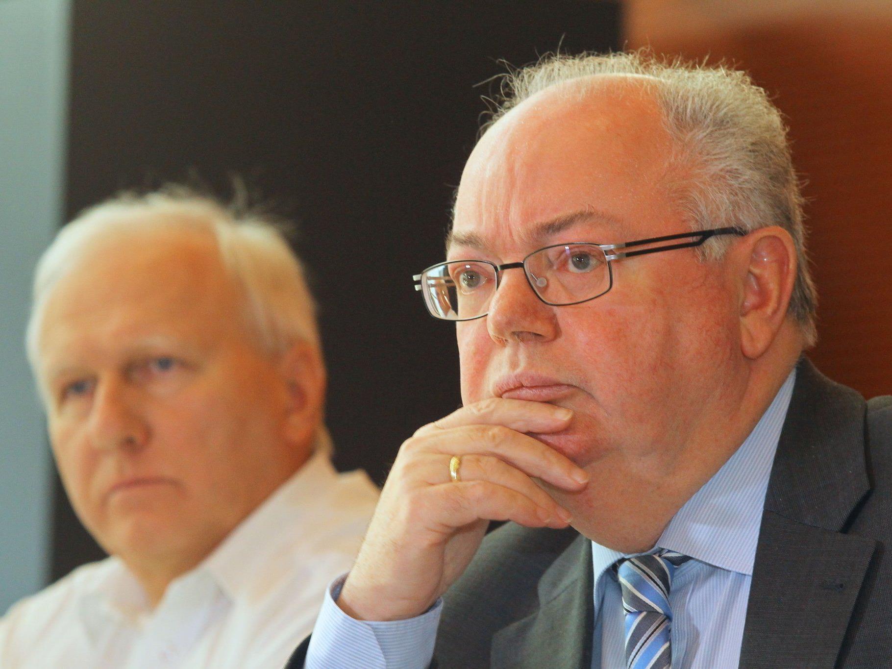 Bürgermeister Wolfgang Rümmele wusste nichts von der im Fokus stehenden Hütte.