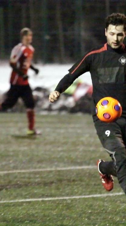 Kubilay Kalkan schoss zwei Tore beim 5:1-Testsieg von Rankweil gegen Lingenau.