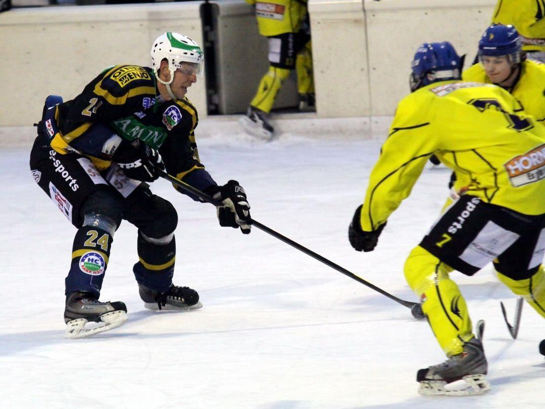 Ex-Weltmeister Tomas Kucharcik führte glänzend Regie und HC Rankweil jubelt über das Double.