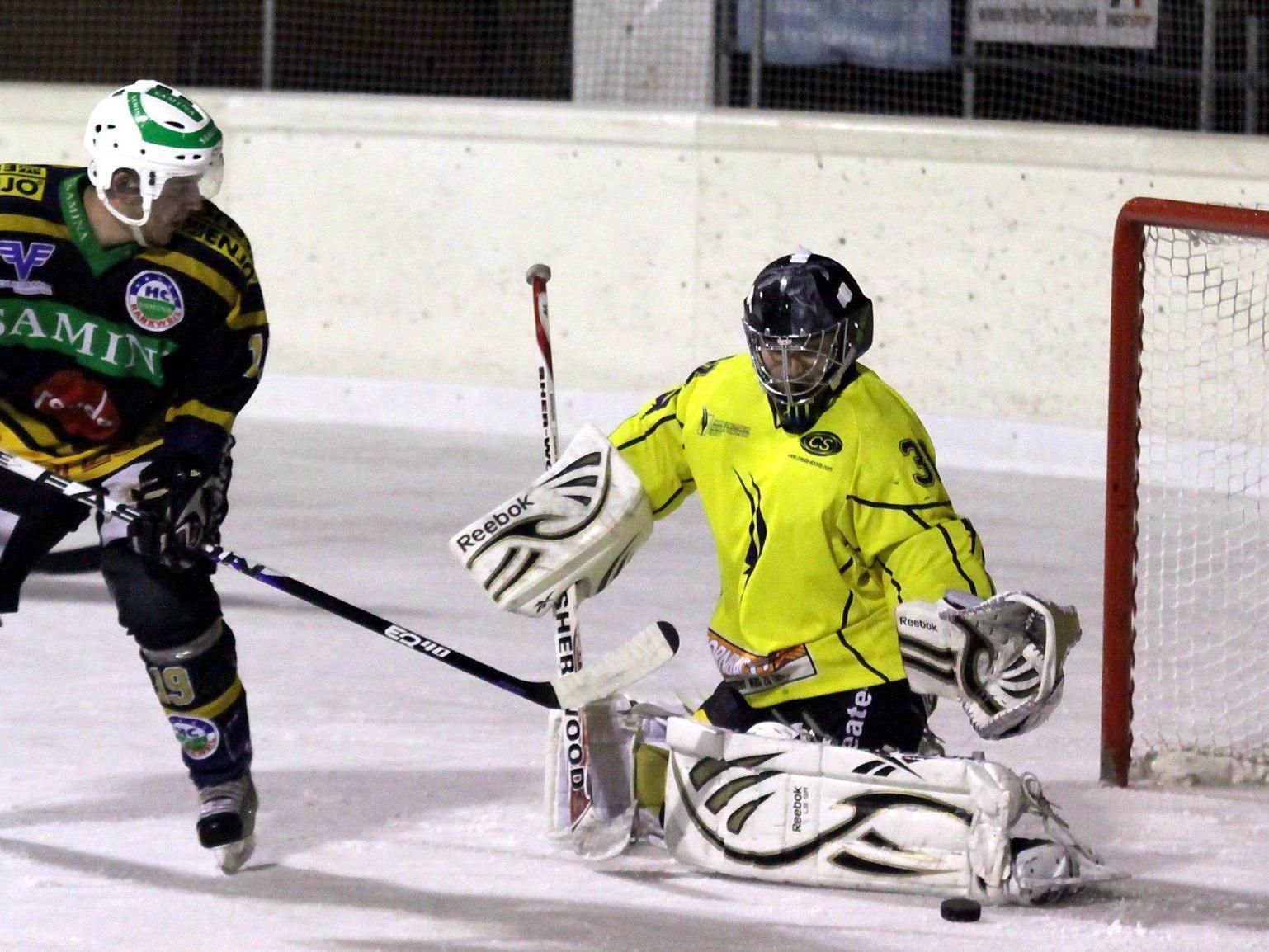 Meister HSC Hohenems verlor das erste Finalspiel gegen HC Samina Rankweil mit 5:8.