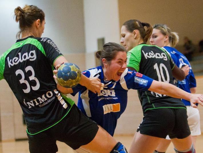 Sabine Kainrath verlor mit Feldkirch das Heimspiel gegen Kärnten klar.