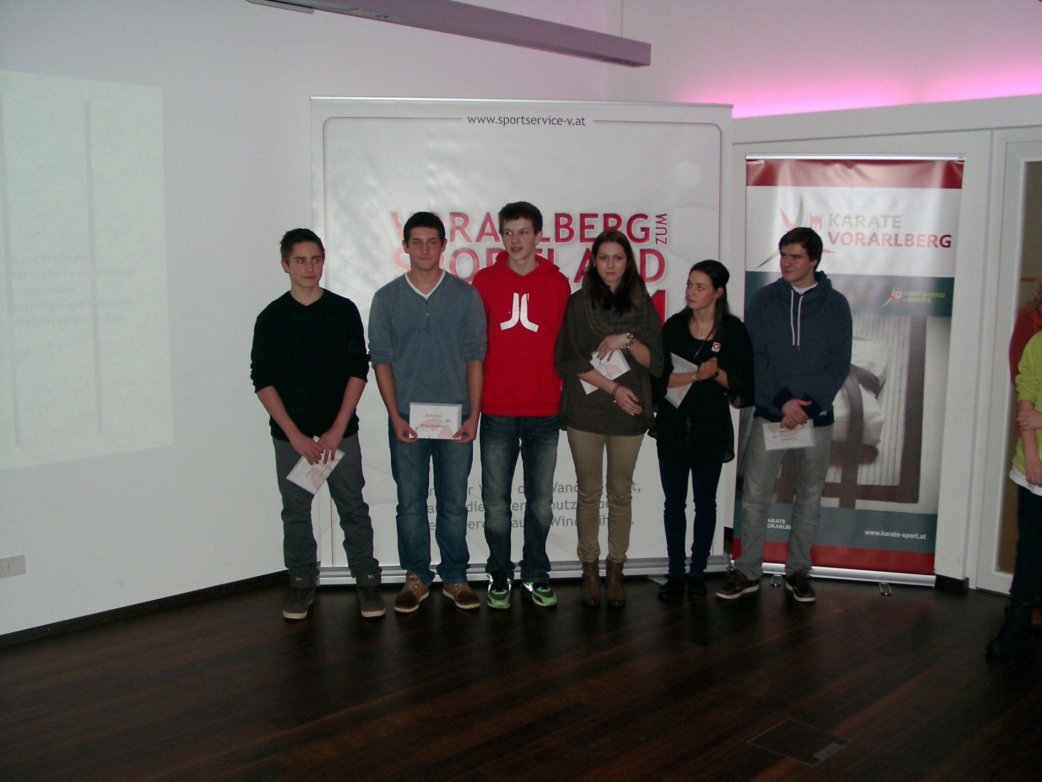 Keine Medaille holten die Vorarlberger Karatekas bei der EM in Aserbaidschan.