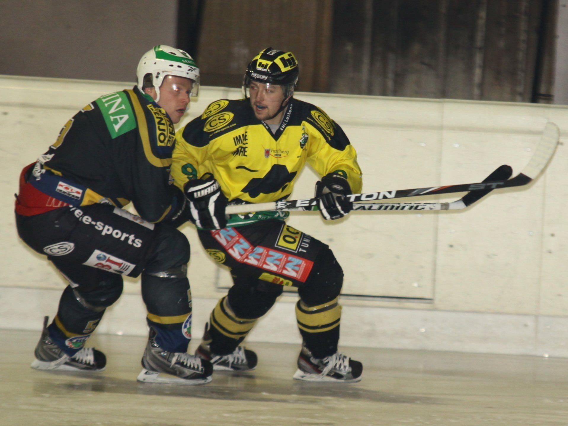 Torjäger Benjamin Staudach will mit dem EHC Palaoro Lustenau noch vieles erreichen.