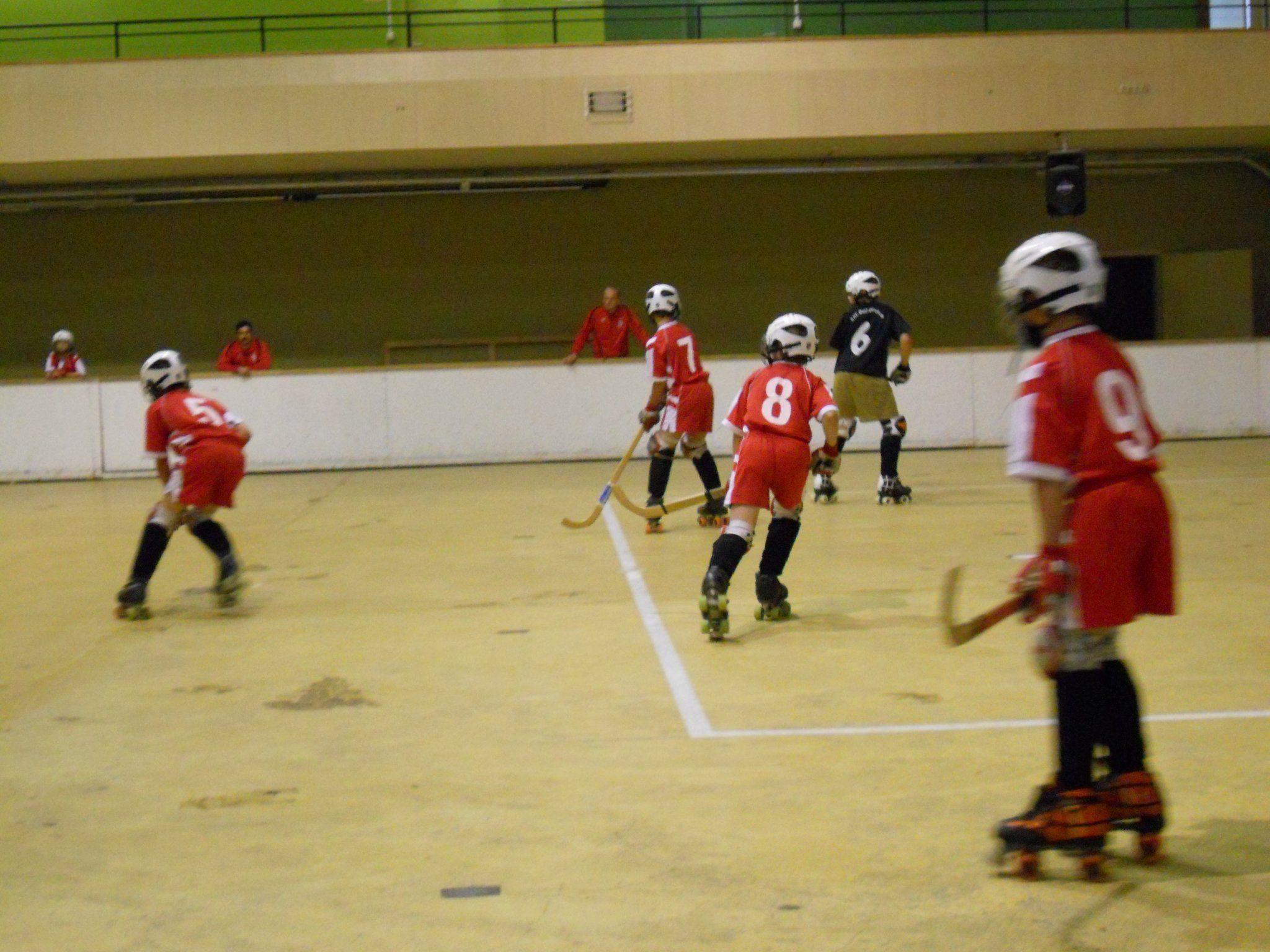 Rollhockeyclub Feldkirch trainiert zur Zeit in Dornbirn