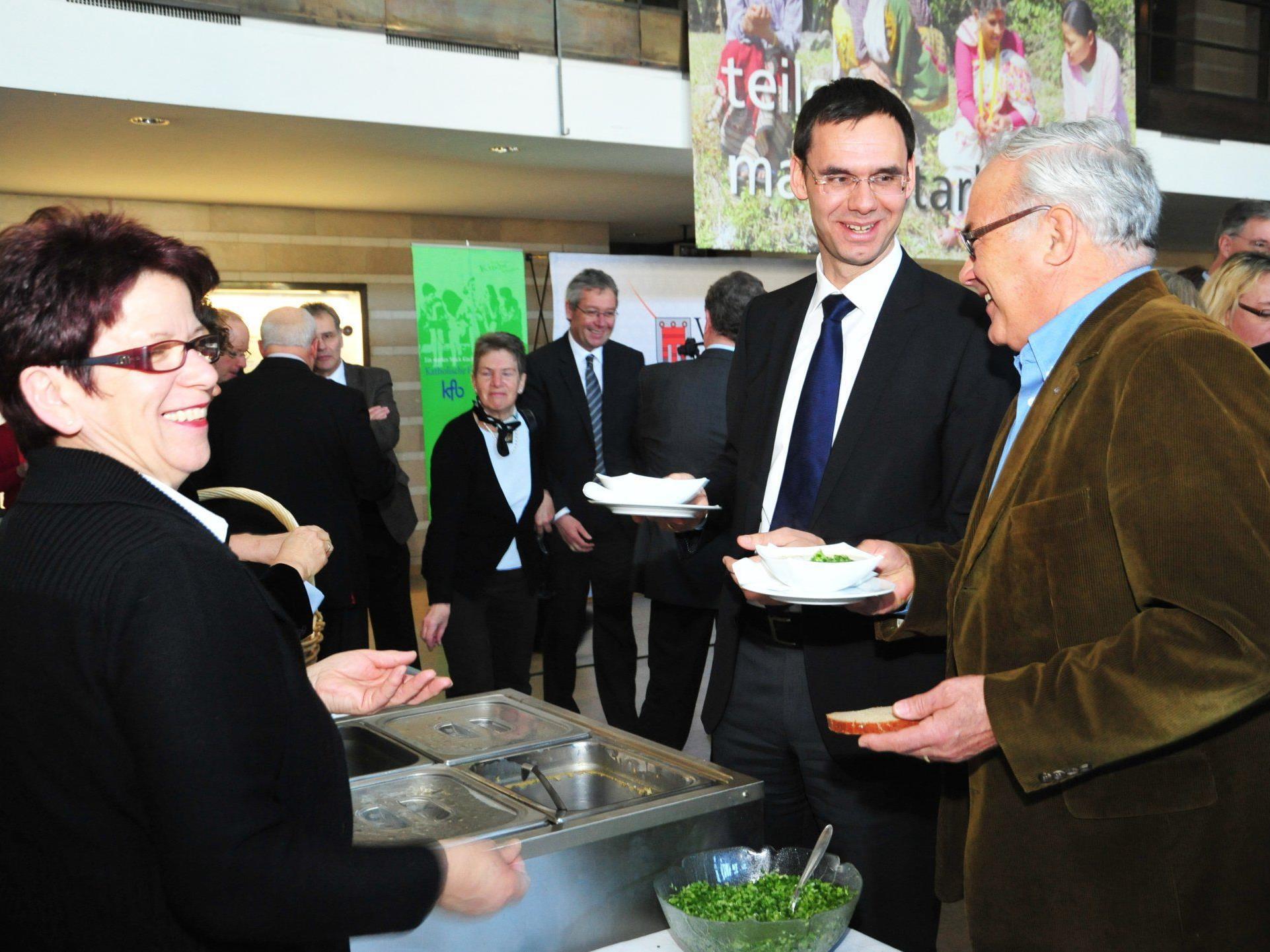 """LH Markus Wallner: """"Bildung und Ausbildung bilden Schwerpunkt des Vorarlberger Engagements im Bereich Entwicklungszusammenarbeit"""""""