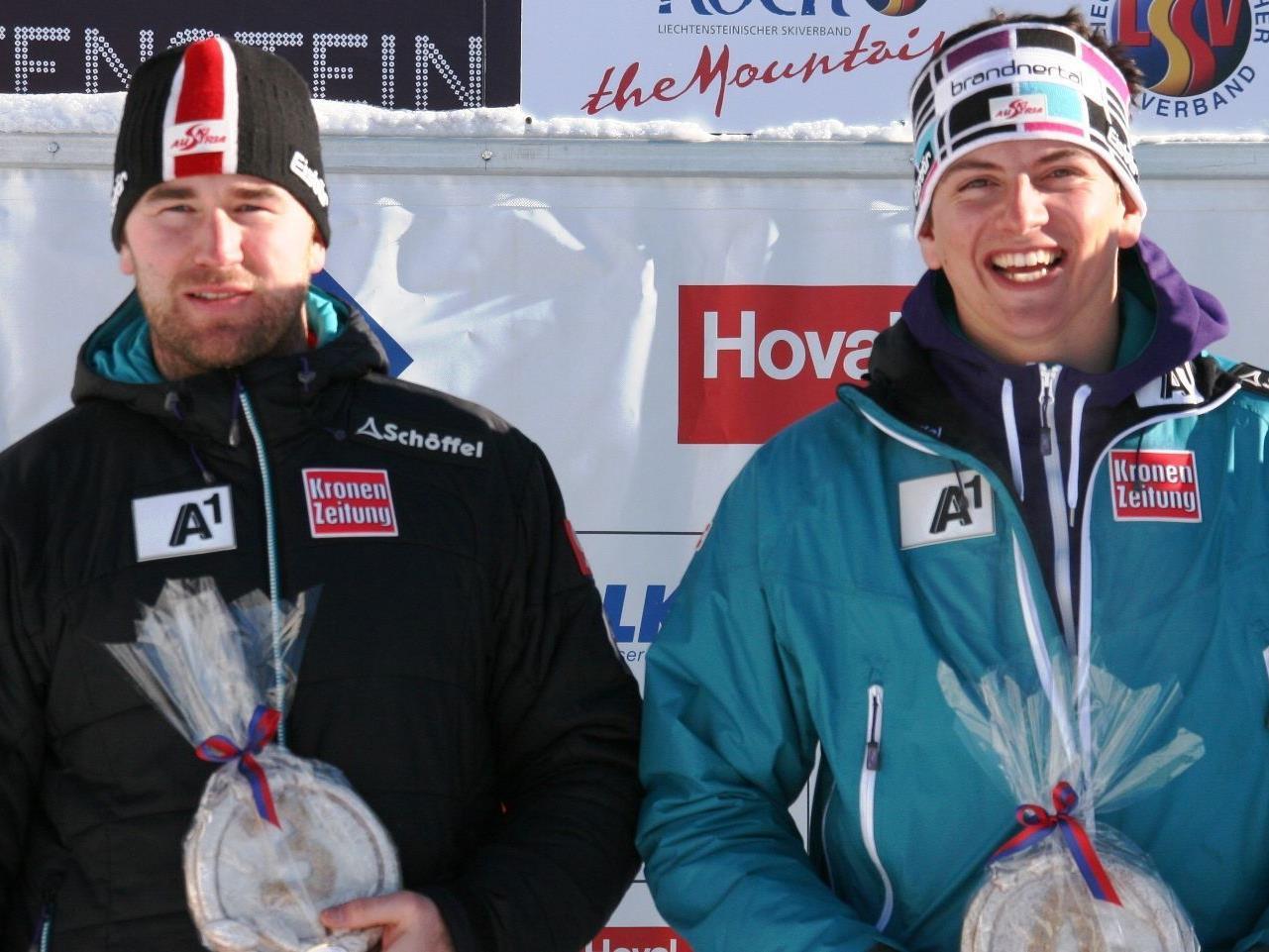 Patrick Bechter wurde Dritter, Frederic Berthold belegte den vierten Platz.