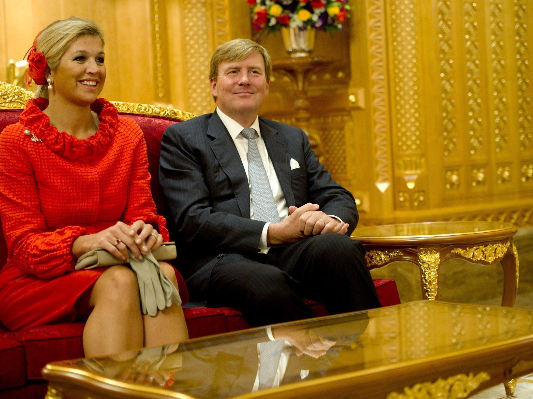 Maxima und Willem-Alexander sind die Vorzeigefmilie und das Traumpaar Hollands.