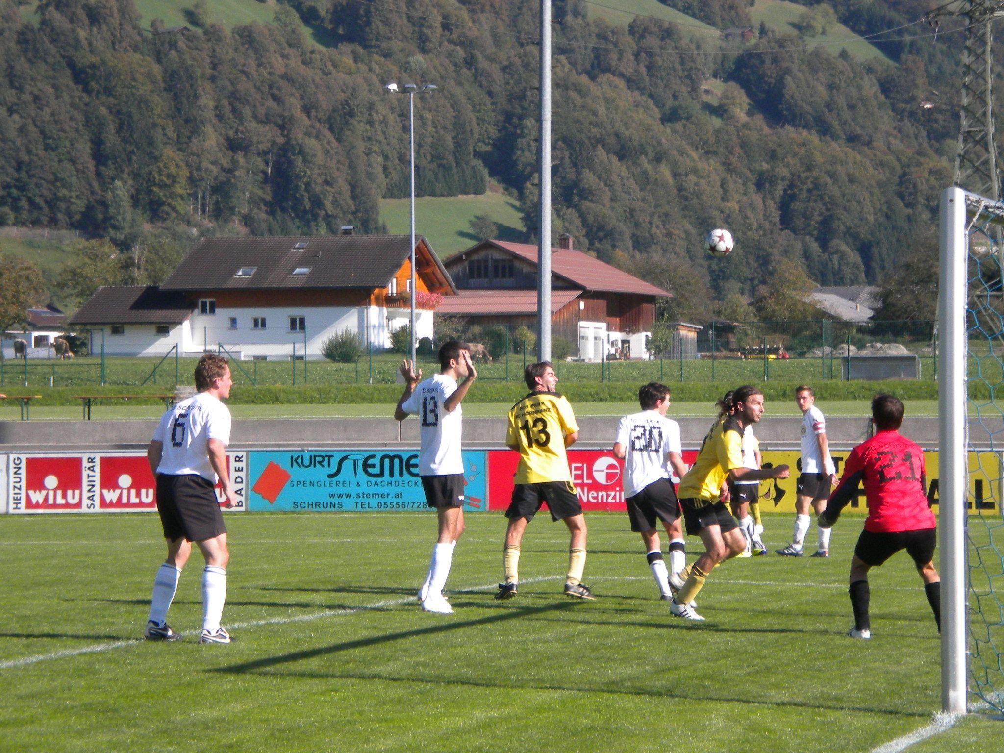Der Golm FC Schruns 1b gewinnt gegen Göfis mit 7:0