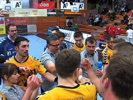Zähne zusammenbeißen und weiterkämpfen heißt es für Handball Bregenz