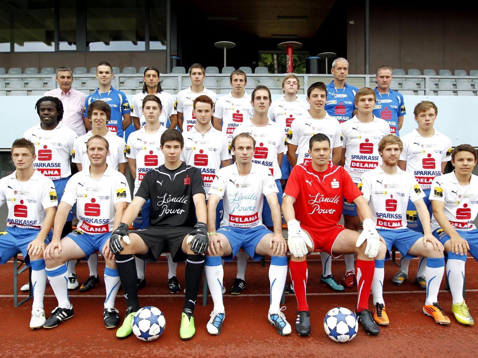 1. Kampfmannschaft Sparkasse Blau Weiß Feldkirch