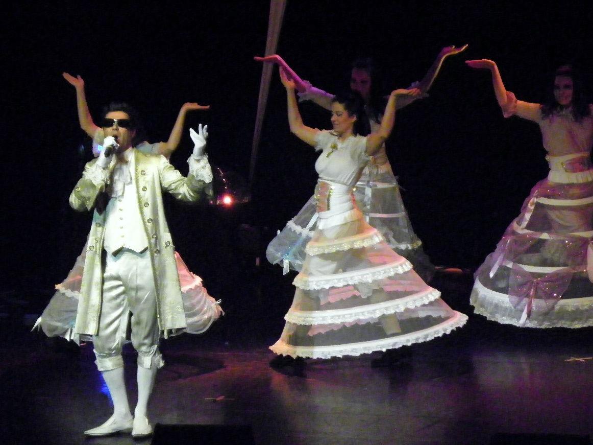 Aus dem Musical: Falco meets Amadeus