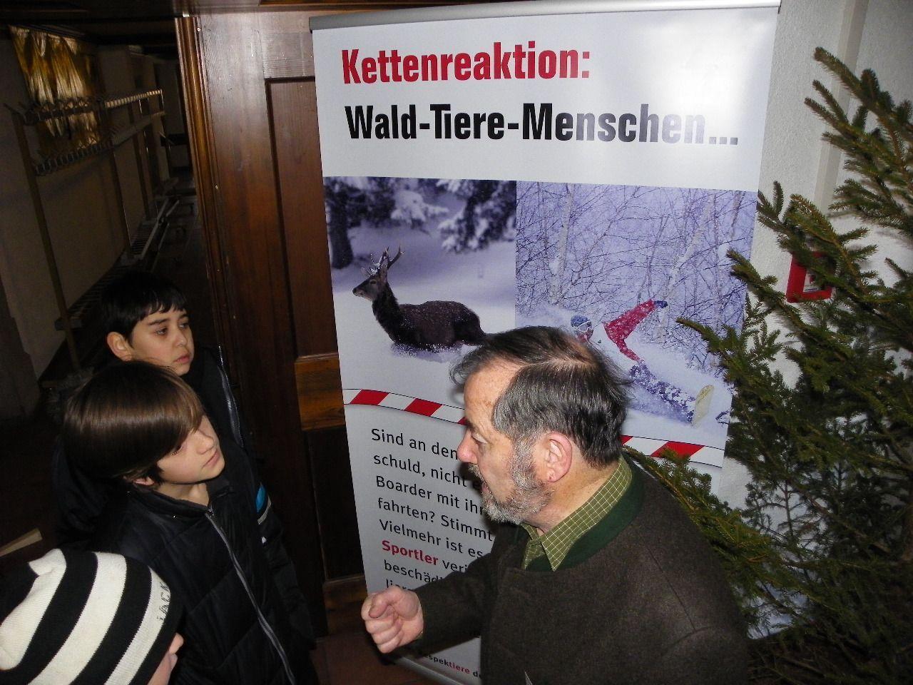 Die Grenzen von Wildrevieren sollen respektiert werden