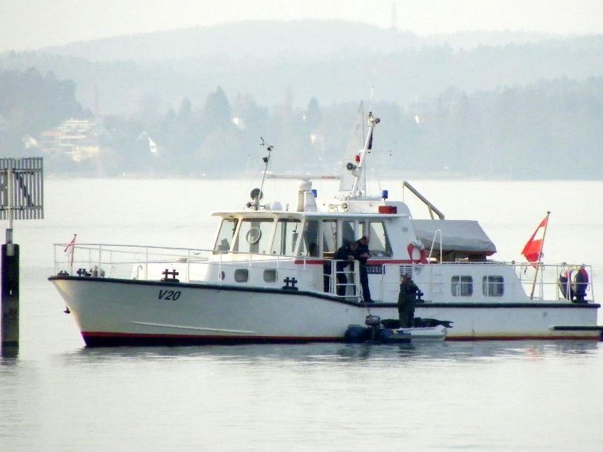 Kontrollen durch die Seepolizei