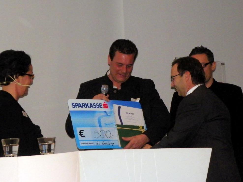 Eric Widerin, Geschäftsführer von BiTiKork wurde ausgezeichnet