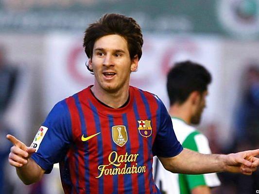 Lionel Messi ist nicht zu stoppen