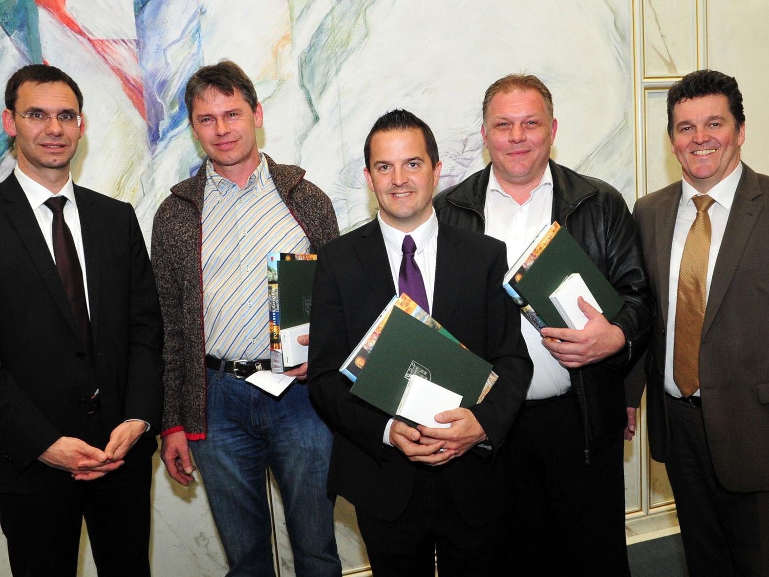 Auszeichnungen gab es am Josefitag vom Land Vorarlberg