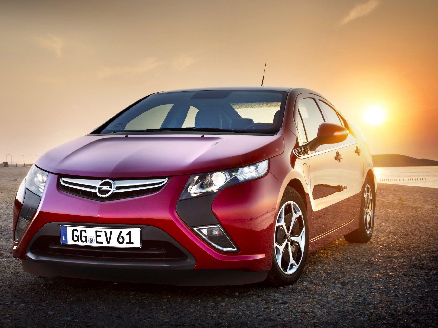 Der Opel Ampera ist vor drei Jahren am Autosalon vorgestellt worden.