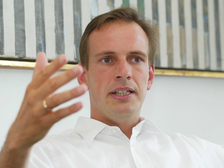 Dieter Egger im Gespräch