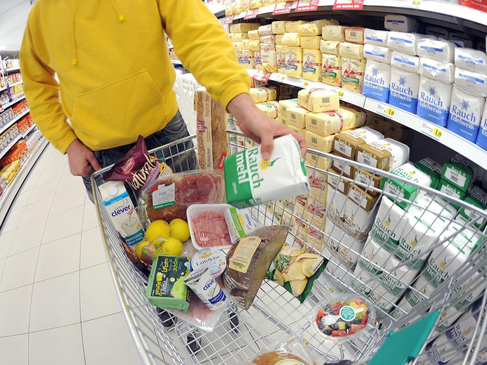 Entspannung durch Basiseffekt bei Ölprodukten, Nahrungsmitteln - Öl dennoch Hauptpreistreiber.