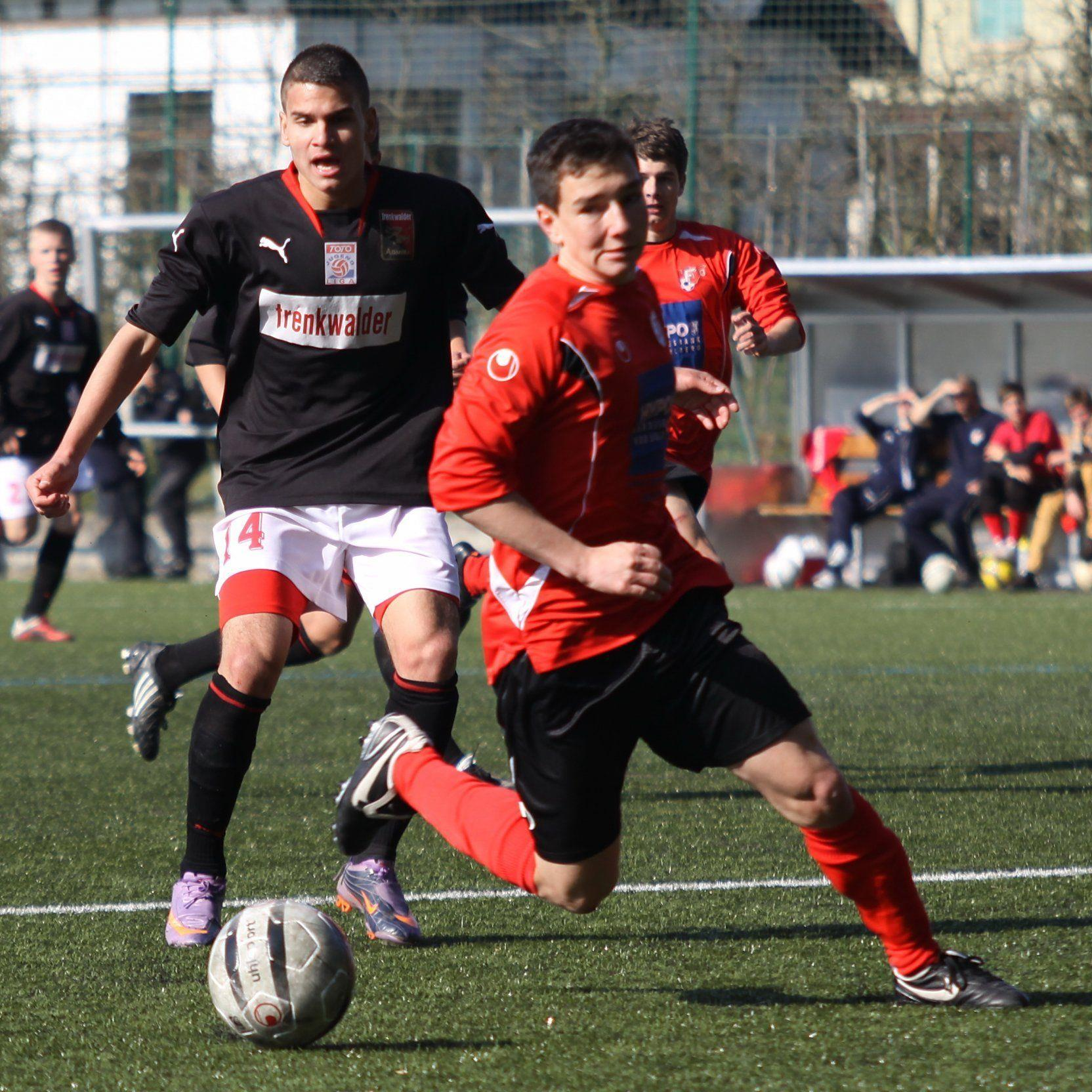 AKA U-18 gewann in Burgenland mit 2:1 und hat schon 22 Punkte auf dem Konto.